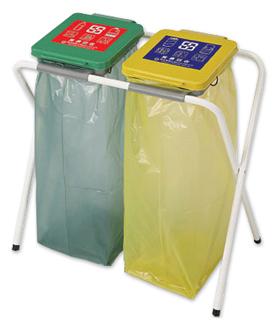 桶ˋ二轮240公升垃圾子车ˋ公园清洁箱ˋ折叠式分类