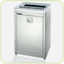不銹鋼煙灰缸+清潔箱<點圖放大觀賞詳細內容>