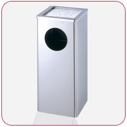 不銹鋼煙灰桶+清潔箱<點圖放大觀賞詳細內容>