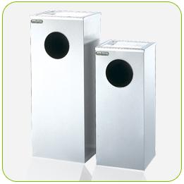 不銹鋼煙灰方型箱+清潔箱<點圖放大觀賞詳細內容>